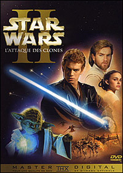 Star Wars Episode 2 Dvd. Star Wars
