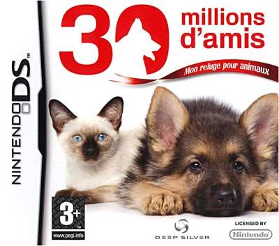 30 Millions d'Amis : Mon refuge pour animaux DS