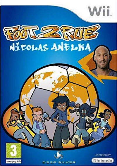 Team21 Foot 2 Rue Nicolas Anelka Wii