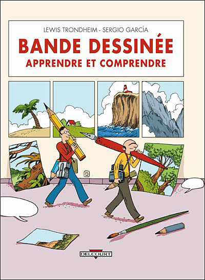 """Couverture de """"Bande dessinée : Apprendre et comprendre"""""""