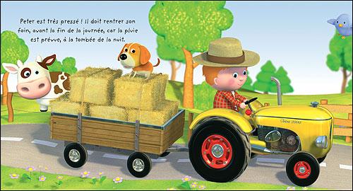 Carte anniversaire tracteur a imprimer - Jeu de tracteur agricole gratuit ...