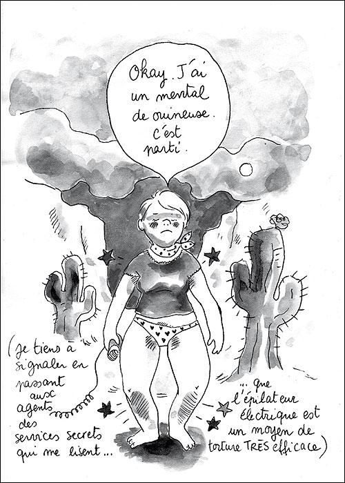 Image: Princesse Capiton/Cati Baur -  dans Jarrete de Fumer Editions Declourt