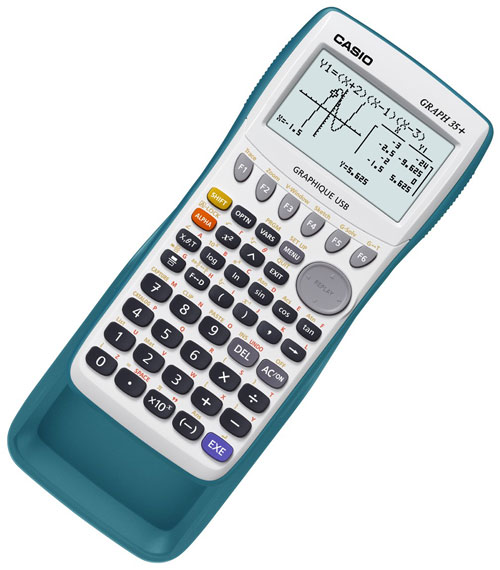casio graph 35 calculatrice scientifique graphique programmable casio math matique. Black Bedroom Furniture Sets. Home Design Ideas