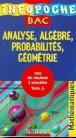 Analyse algèbre probabilités géométrie