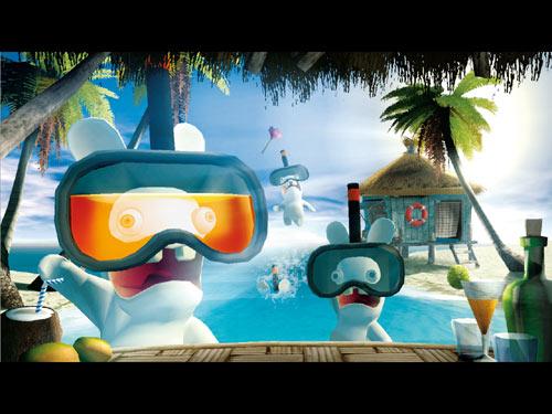 Images du jeu : Rayman contre les lapins crétins. 3307210230157_2