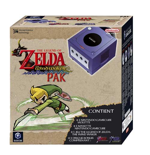 Listing Pack GameCube limited Pal FR 0045496370343
