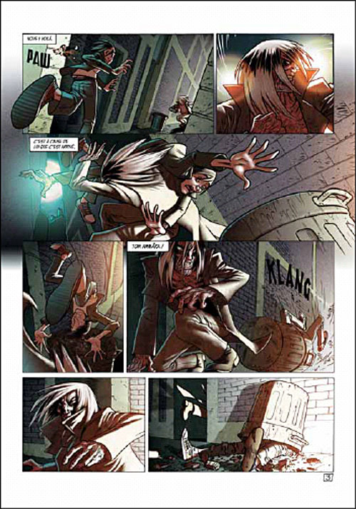 """Extrait planche """"Soulhunters"""" tome 1"""