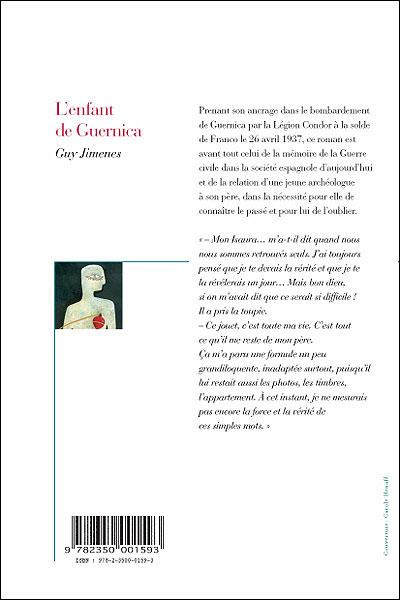 L'enfant de Guernica, de Guy Jimenes 9782350001593_1