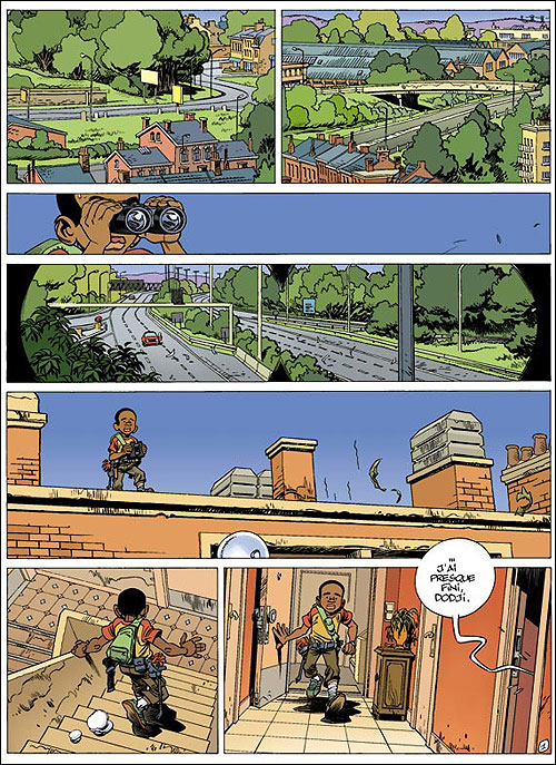 "extrait planche ""Seuls"" tome 2"