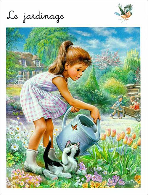 Page Livre Ancien Livre D'enfant Ancien