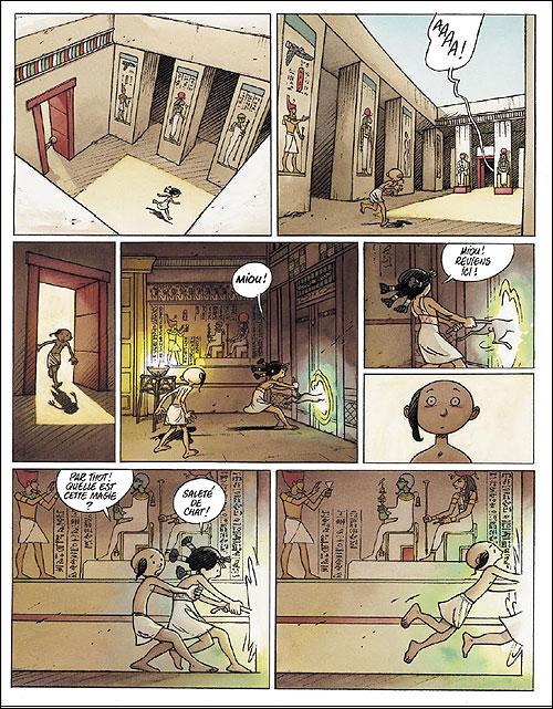 Extrait planche de Khéti, fils du Nil