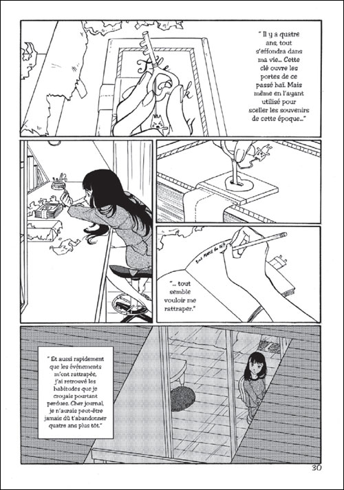"extrait planche ""Pink Diary"""