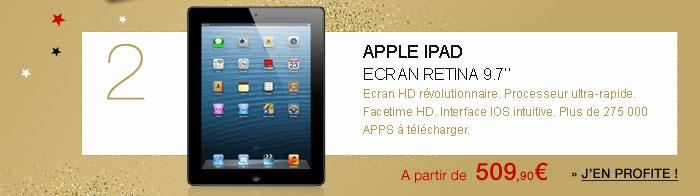Apple iPad écran rétina 9.7''