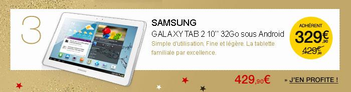 Samsung Galaxy Tab 2 10.1'' 32Go